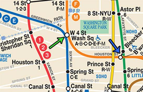 stazioni metro con cambio linea