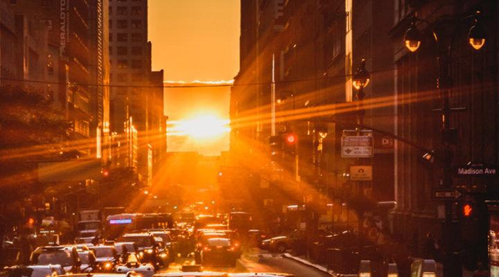 Manhattanhenge e gli altri tramonti da vedere una volta nella vita