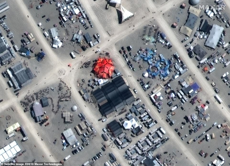 Burning Man 2019 - Le prime immagini aeree
