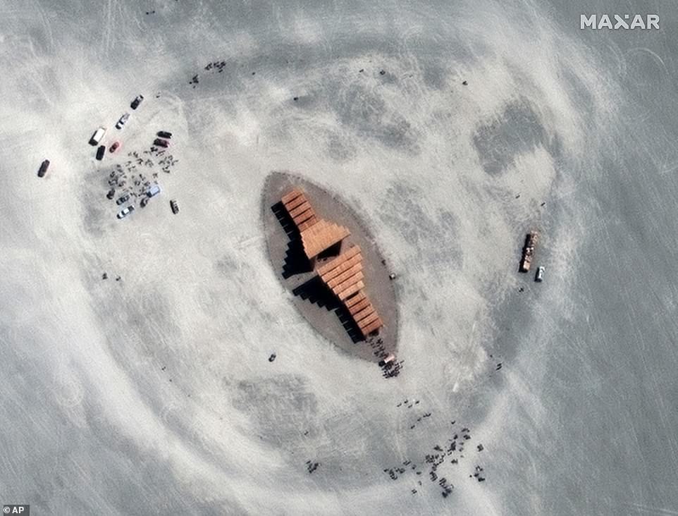 Burning Man\'s theme this year is \'metamorphoses\', with organizers saying they are celebrating change and uncertainty