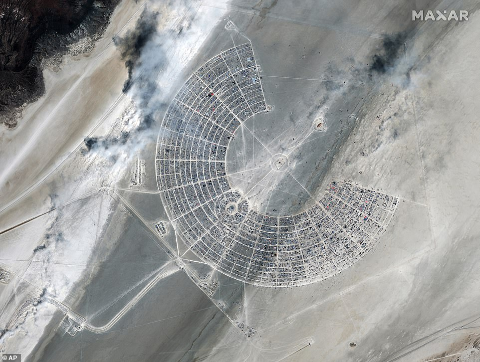 Burning Man, an arts and culture festival held in the Black Rock Desert near Reno, began on Monday to relatively short wait times
