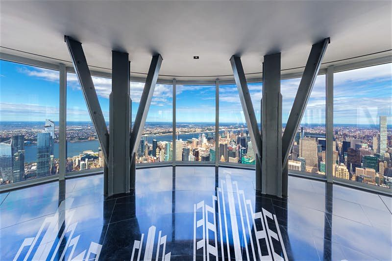 La nuova vista su New York è dall'osservatorio al 102esimo piano dell'Empire State Building