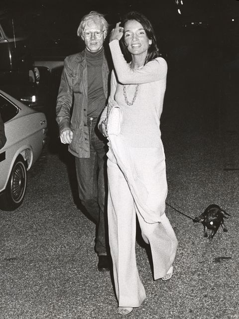 lee radziwill and andy warhol photo by ron galellaron galella collection via getty images